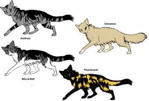 My warrior cats by wolferzzzz4296 on deviantart