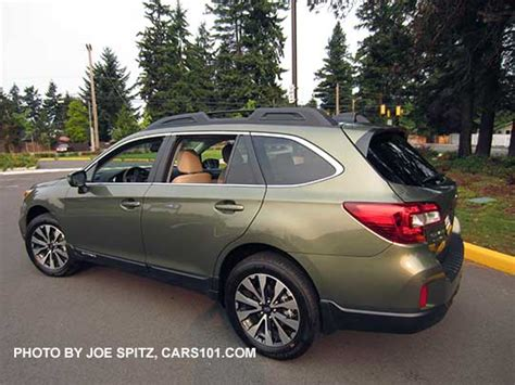 green subaru outback 2017 2016 outback specs options colors prices photos and more
