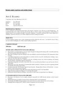 Resume Exles For Experienced It Professionals Exles Of Resumes 19 Reasons This Is An Excellent Resume Business Insider In Professional