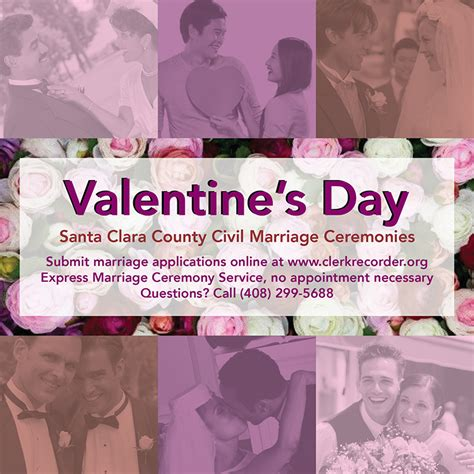 valentines day san jose express weddings offered at county office for valentine s