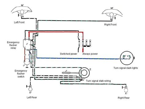 emergency signal stat flasher wiring diagram emergency