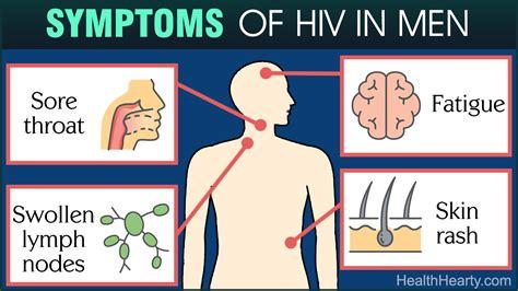 early hiv aids symptoms ehow early hiv symptoms in men