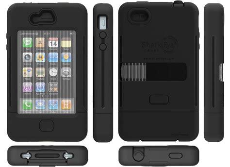 iphone 4 rugged sharkeye rugged iphone 4 gadgetsin
