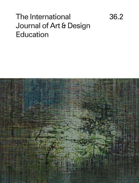 design international journal international journal of art design education