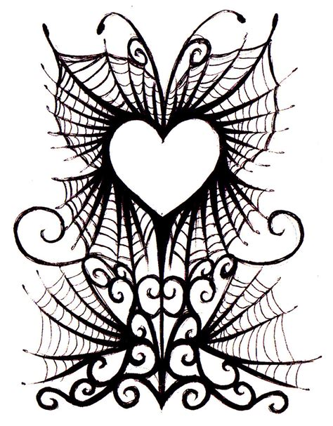 gothic heart tattoo designs free pictures of hearts free clip