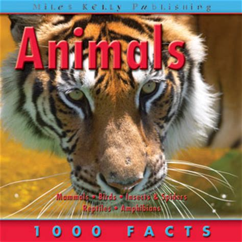 1000 Animal Fact children s nature books facts reference