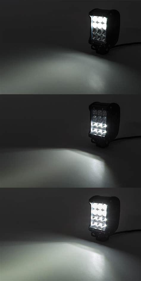 Road Led Light by 4 Quot Row Road Led Light Bar W Multibeam Technology
