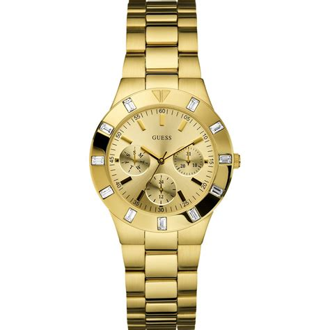 glisten gold tone bracelet w13576l1 guess