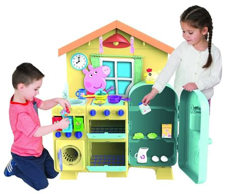 cucine peppa pig cooking with peppa pig house kitchen playset