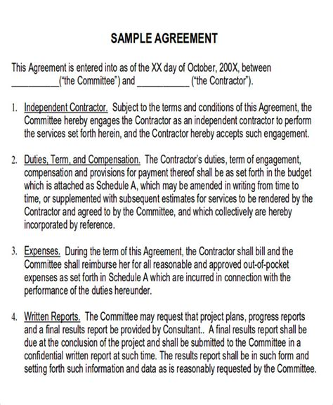 Permalink to Service Delivery Agreement Template