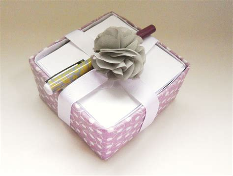 Craft Paper Holder - tissue box craft note paper holder gift delightfully noted