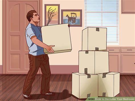 how to declutter a bedroom 3 ways to declutter your bedroom wikihow