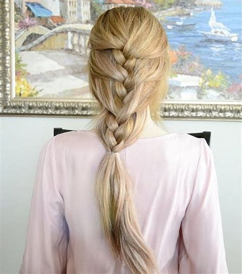 fancy braids wiki how how to do a braid up the back of your head 30 elegant
