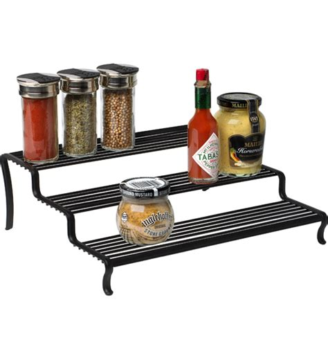 Tiered Shelf Organizer by Tiered Shelf Organizer In Shelf Risers And Organizers