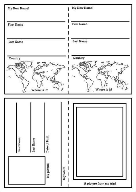 pinterest layout psd passport template 19 free word pdf psd illustrator