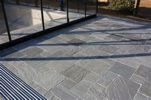Indian Sandstone Patio Slabs by Kandla Grey Indian Sandstone Paving Patio