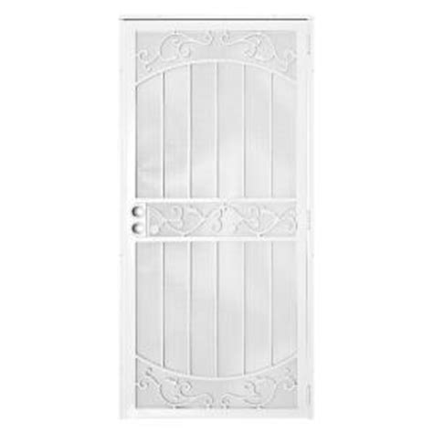 door security screen door security home depot