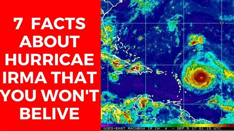 7 Facts On by 7 Facts About Hurricane Irma That You Won T Belive