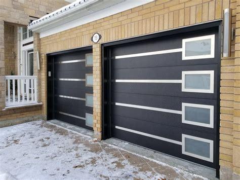 Frosted Garage Door by Modern Garage Doors Frosted Glass Modern Doors