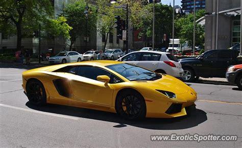 Lamborghini Aventador Price Canada Lamborghini Aventador Spotted In Montreal Canada On 06 06