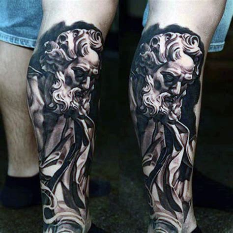 leg tattoo sleeves for men 100 christian tattoos for manly spiritual designs