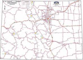 colorado county map with highways colorado state highway map