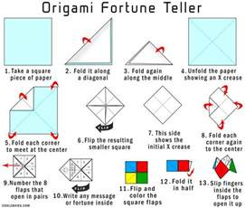 How To Make A Paper Fortune Teller - the gallery for gt how to make a paper fortune teller