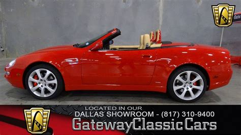 Maserati Of Dallas by 2003 Maserati Cambiocorsa M138 Spyder 599 Dfw Gateway
