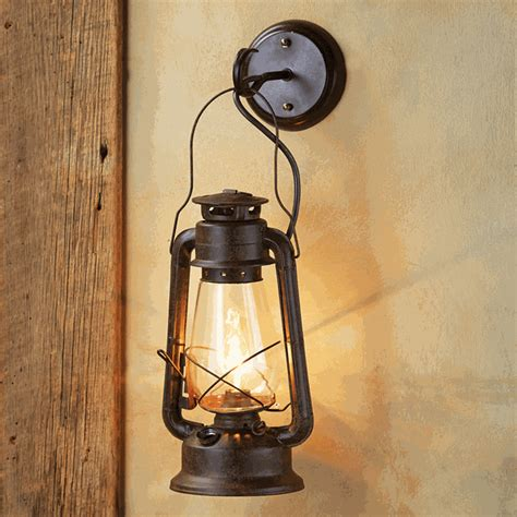 Lantern Wall Sconce Large Rustic Lantern Wall Sconce