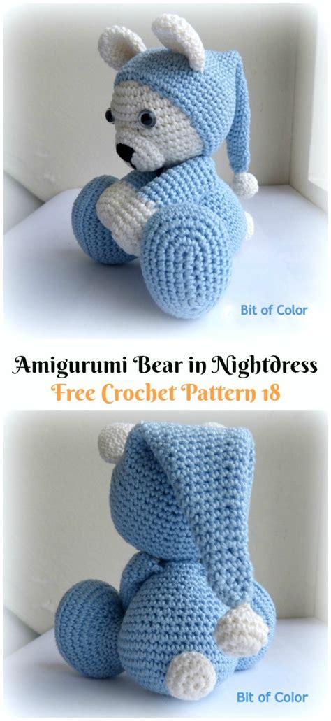 amigurumi crochet teddy bear toys  patterns