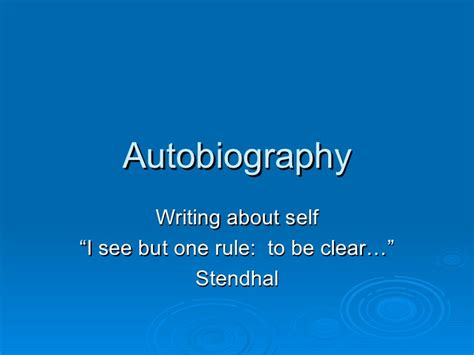 biography text presentation autobiography powerpoint