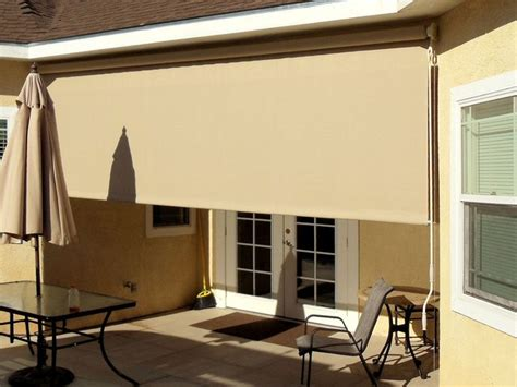 Rolling Shades For Patio by Patio Roller Drop Shade Traditional Patio Los