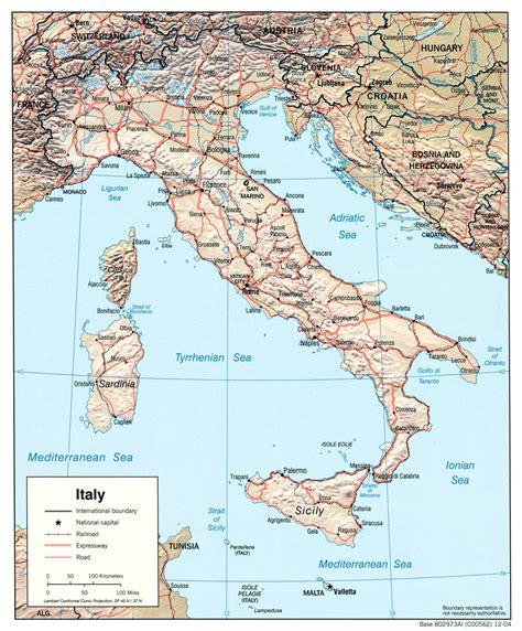 d italiaã cartes d italie