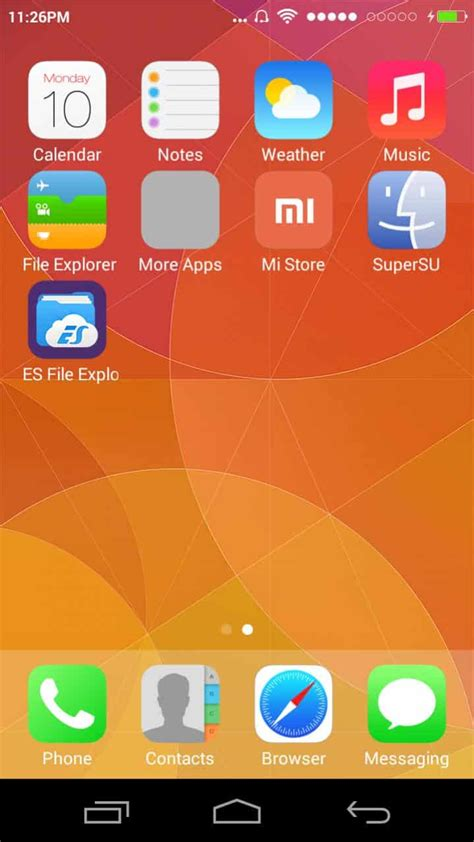 miui unofficial themes unofficial miui 7 lollipop rom for micromax canvas xpress 2
