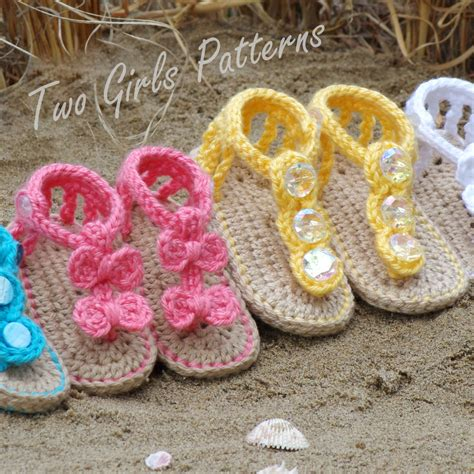 pattern crochet sandals baby crochet pattern sandal 2 versions and free barefoot