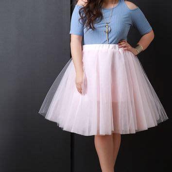 Bc408 Semi Knit Shirt With Tutu Skirt best blush tulle skirt products on wanelo