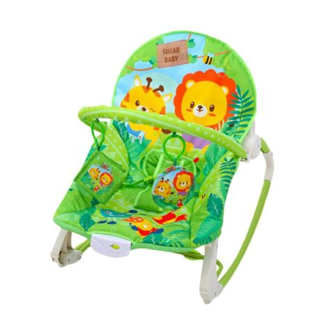 Bouncer Bayi Sugar Baby My Rocker 3 Stages Tea Time jual sugar baby bouncer my rocker stage 3 jungle