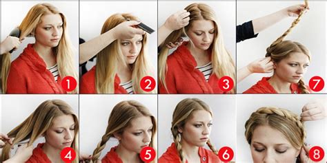 How To Do A Hairstyle by How To Do Milkmaid Braid Image Tutorial
