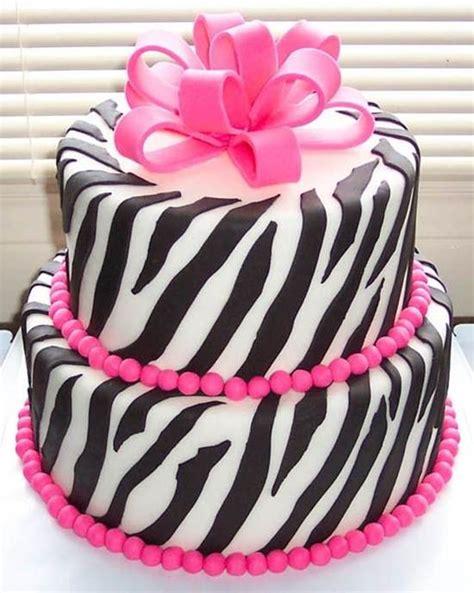 Cake Decorating Ideas For Zebra Print Renkli Zebra Yaş Pasta Kadınlar Sitesi Gebelik