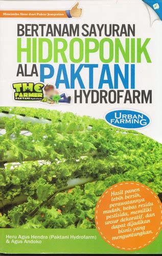 Harga Media Tanam Pak Tani buku panduan hidroponik herbamart
