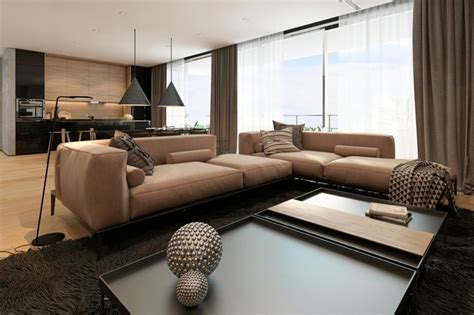 Idee Deco Appartement Moderne by Id 233 E D 233 Co Appartement Avec De La Texture En Deux Exemples