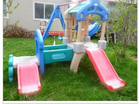 little tikes plastic swing set the spectacular attempt up cyling little tikes swingset