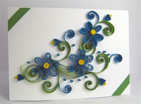 Greeting Card Designs Handmade Paper - quilling greeting card handmade thank you card by stoykasart