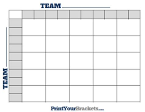 Office Football Pool 25 Squares Basketball Pools Printable Nba And Ncaa Office Pools