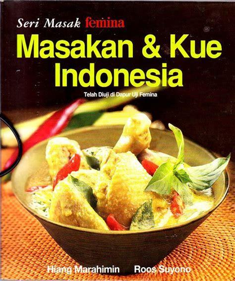 buku resep aneka masakan dan kue buku resep masakan terfavorit