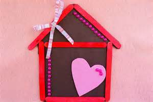 home is where the is home is where the is magnet popsicle stick craft for