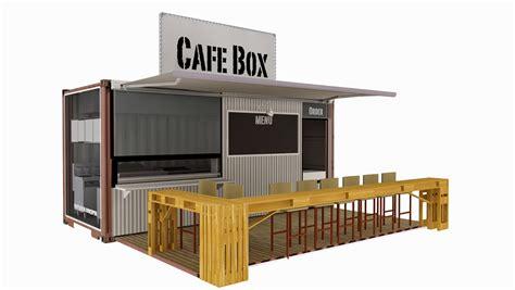 Harga Makeover Di Mall container cafe design container interior design idea