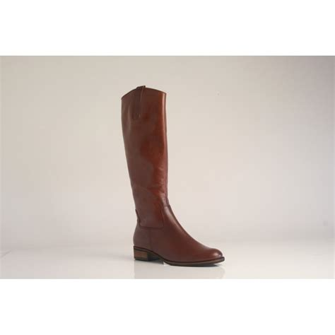 gabor boots gabor gabor style quot brook s quot brown leather boot with