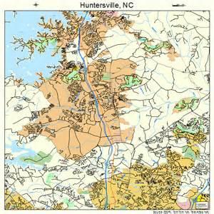 huntersville carolina map 3733120