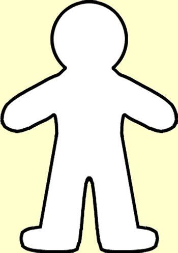 person template preschool paper person template person outline c